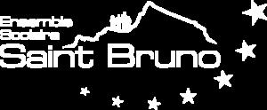 Logo Ensemble scolaire Saint Bruno Blanc