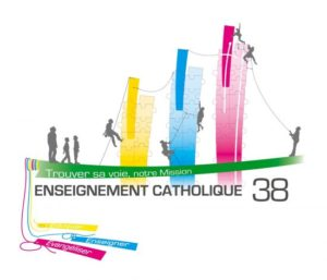 Logo Direction diocésaine de l'éducation catholique 38